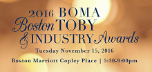 BOMA Boston TOBY Awards 2016