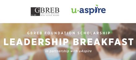 The GBREB Foundation uAspire Breakfast