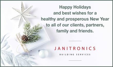 Happy Holidays From Janitronics Building Services