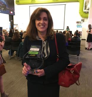 Dorrian Fragola Recieves Award From Building Impact